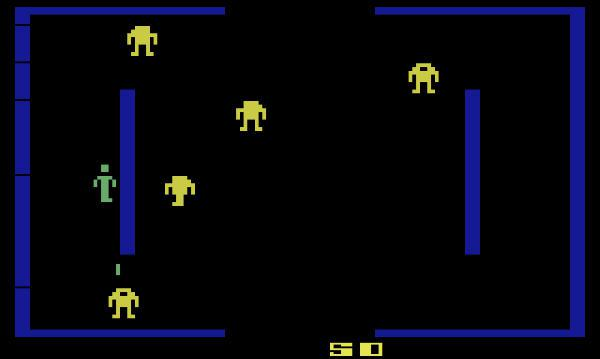 Berzerk entre as mortes bizarras influenciadas por jogos eletrônicos