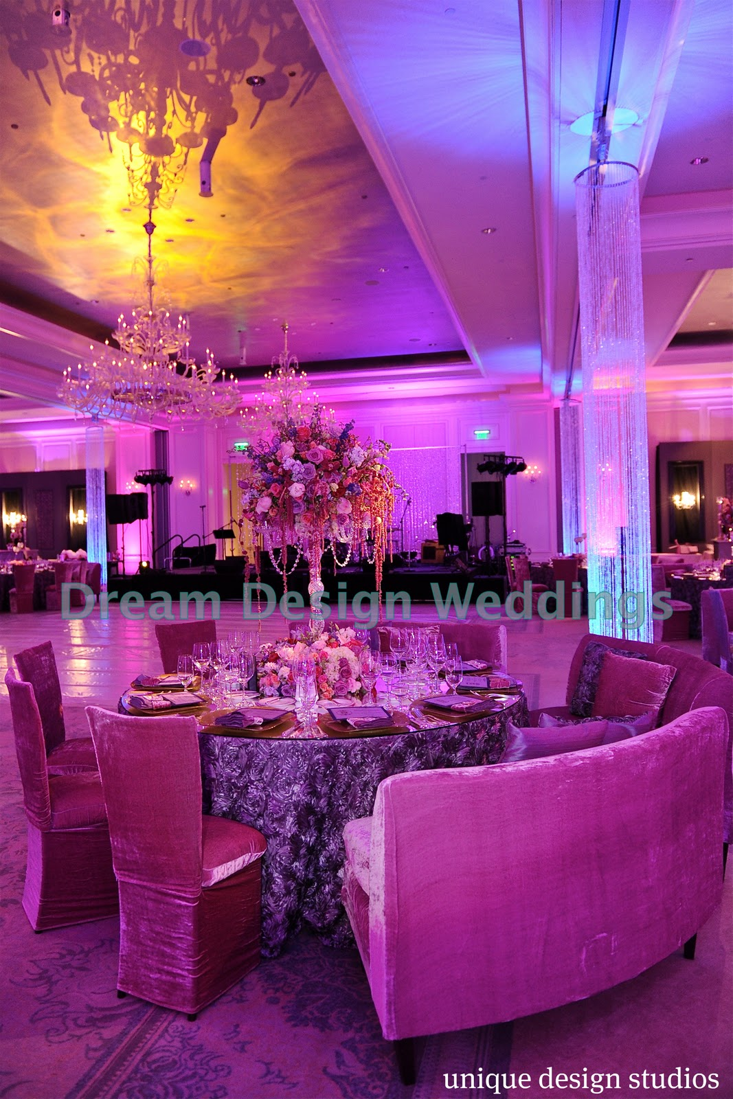 Tiffany cook events newest housewife porsha stewart and for Wedding reception layout tool