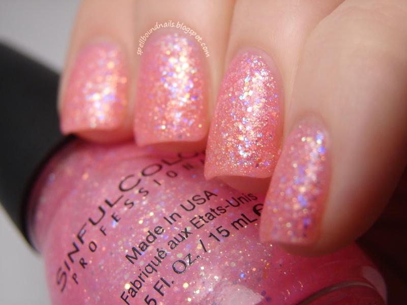 Light Pink Glitter Nail Polish Light Pink Glitter Nail