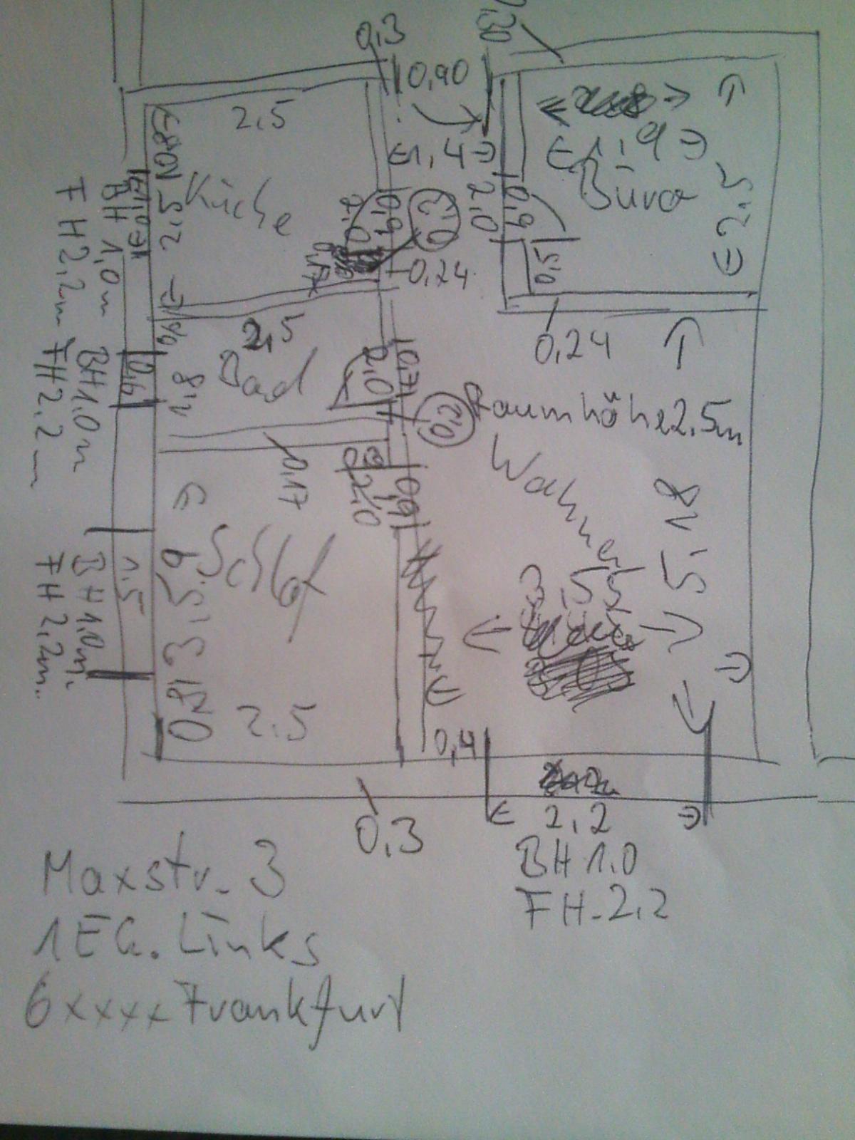 mein grundriss: wohnflächenberechnung
