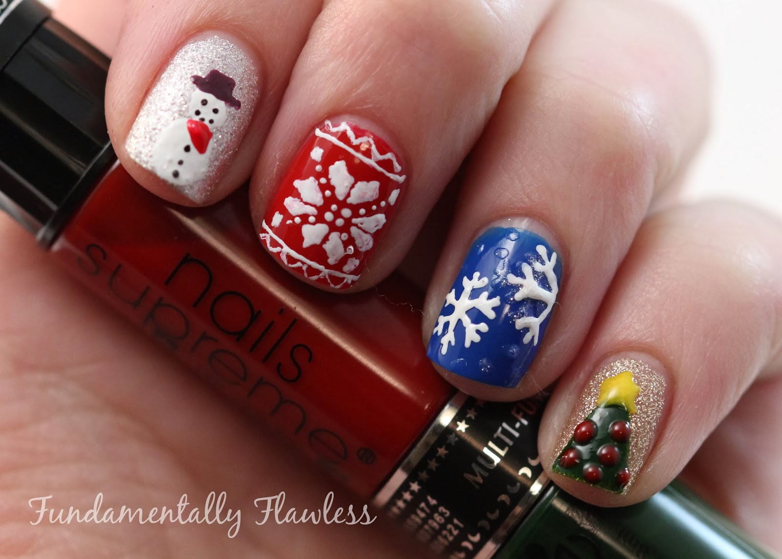 Fundamentally flawless christmas nail art nails supreme plain you can find these nails supreme nail art kits on the presents for men website priced at 1999 each prinsesfo Image collections