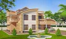 Evens Construction Pvt Beautiful Kerala House Plan