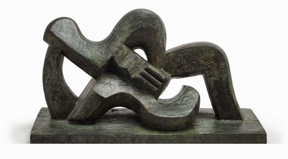 Jacques Lipchitz's Woman with a Guitar