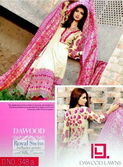 Lawn Dresses with Silk Dupatta