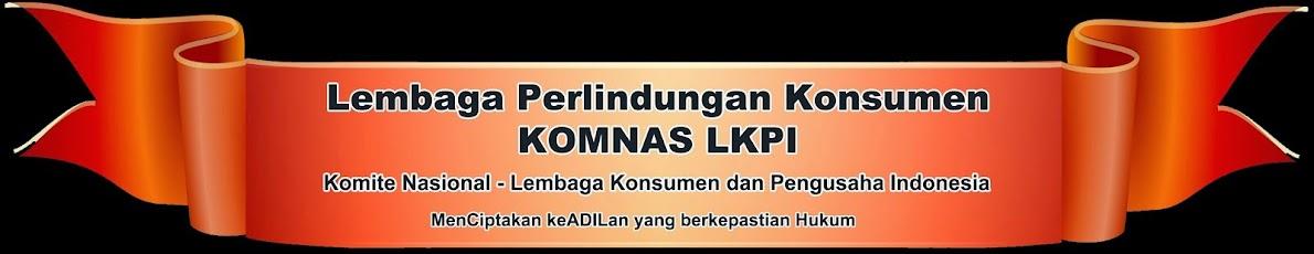 Lembaga Perlindungan Konsumen KOMNAS LKPI