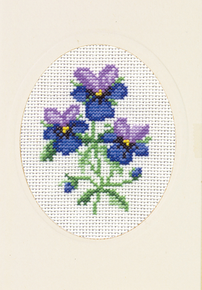Good Life 2 Go Permin Free Cross Stitch Chart Viola