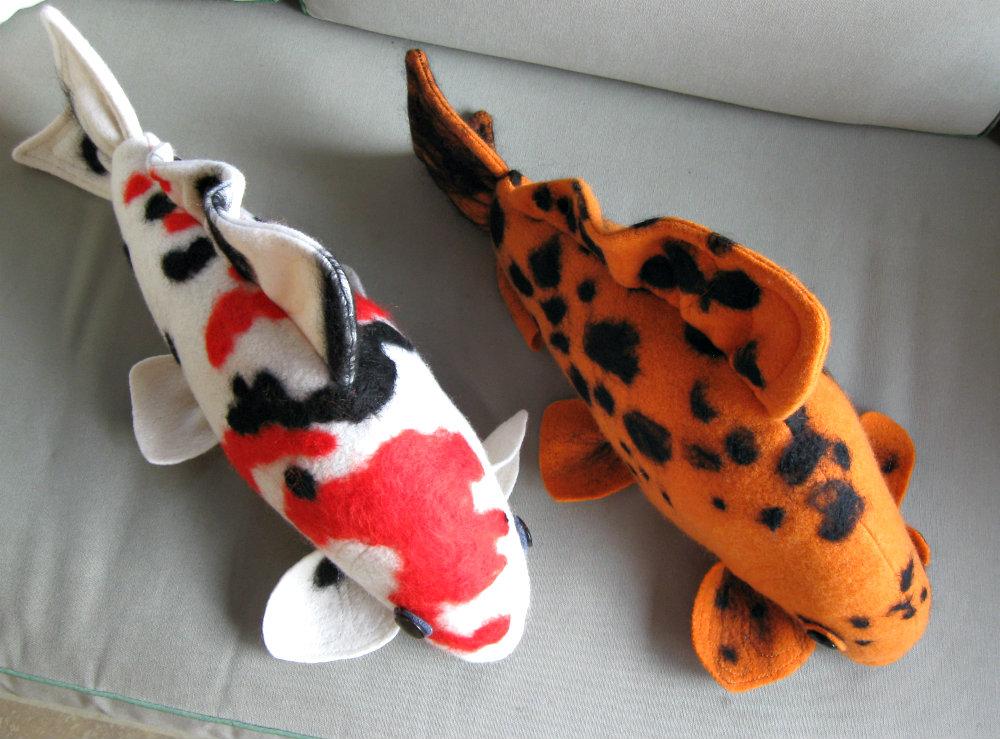 Feltsewgood just for fun for Koi fish plush