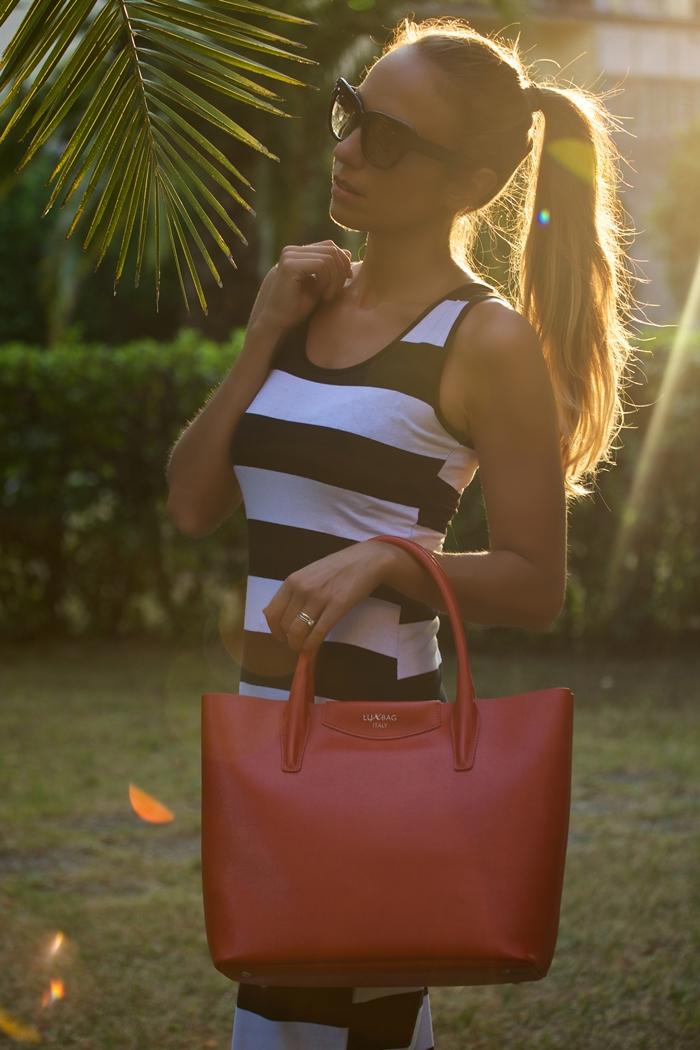 shopping bag rossa