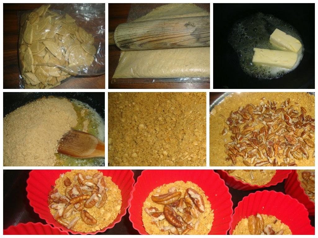 Base de galleta para tartaletas