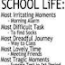 Is This How Your School Life Was?