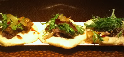 Duck Confit on Steamed Buns
