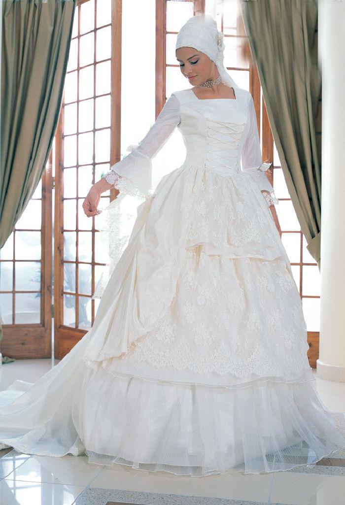 Islamic Wedding Dresses For   : Islamic wedding dress asheclub spot