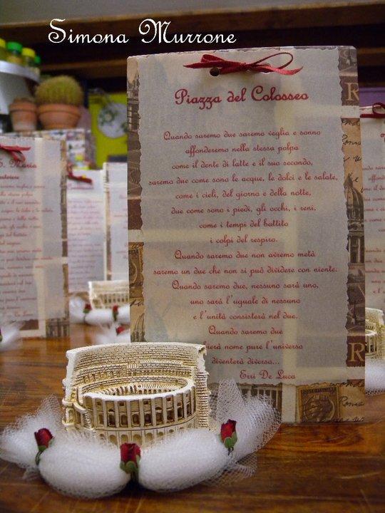 Matrimonio Tema Roma : Chiara e maurizio matrimonio con lo sponsor gli auguri