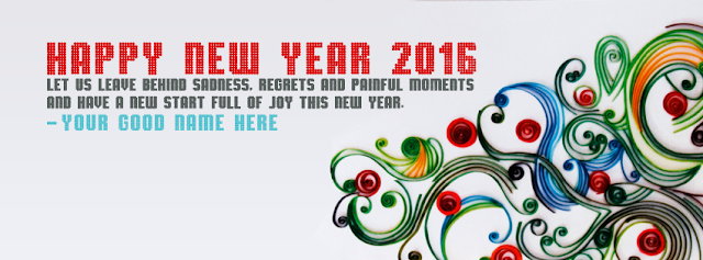 Happy New Year 2016 Timeline Cover