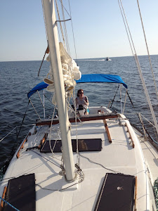 Mistie at the helm