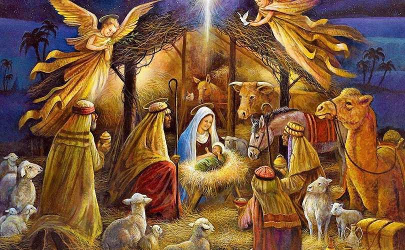 Um Santo Natal e que Jesus e Maria abençoem você e sua família.