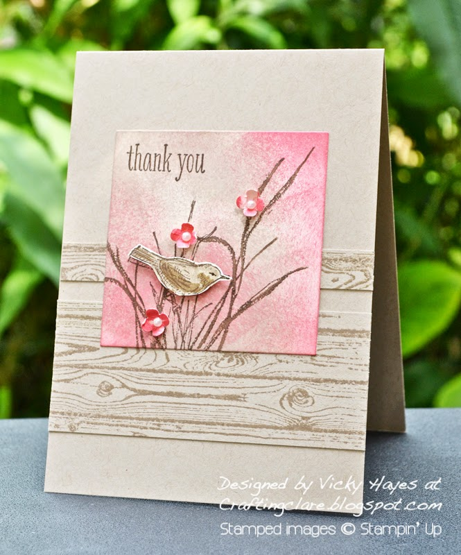Buy Hardwood and Simply Sketched by Stampin Up online from Vicky at Crafting Clares paper moments