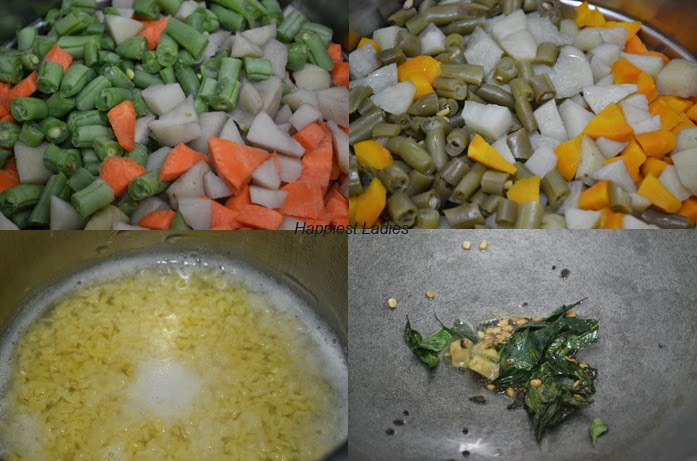 Steps of Vegetable Poha Recipe