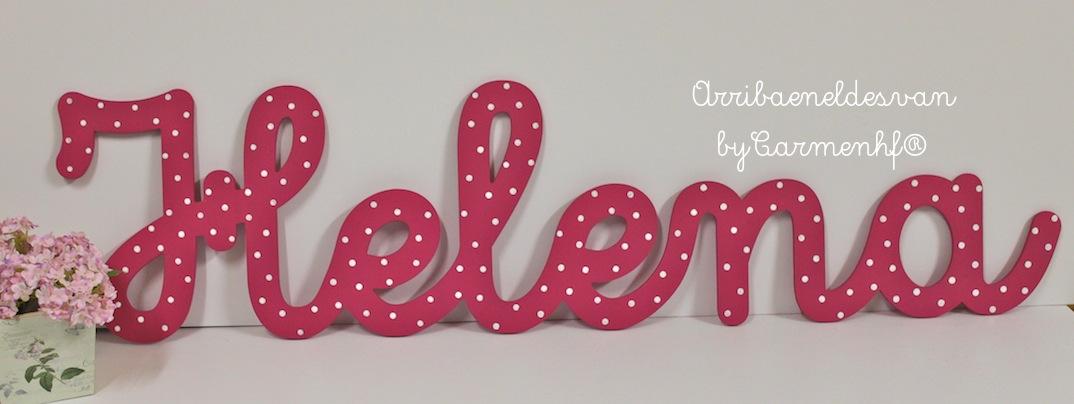 28 enero letras para habitaciones infantiles - Letras decorativas infantiles ...