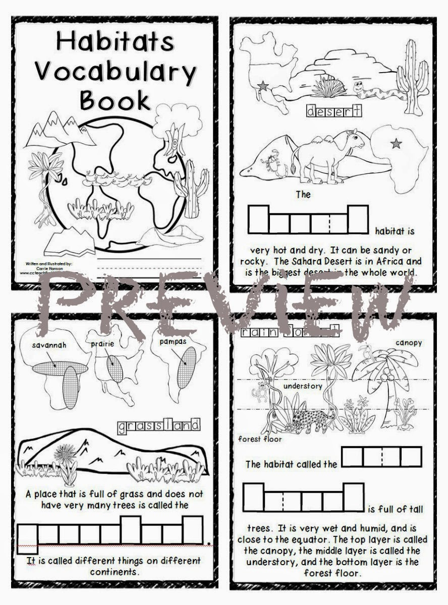 ocean habitat coloring pages free - photo #50