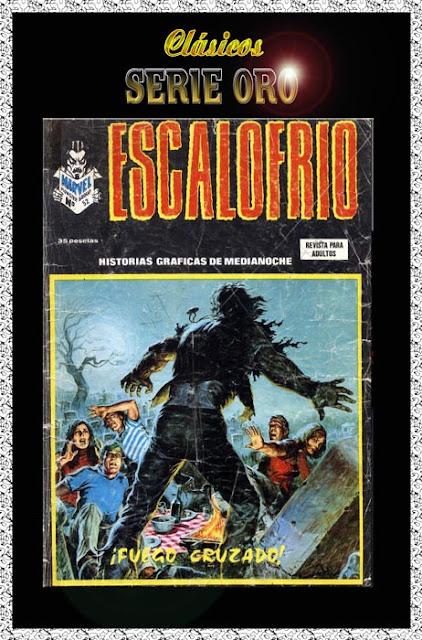 Portada Escalofrio Volumen 1 Vértice Nº 52
