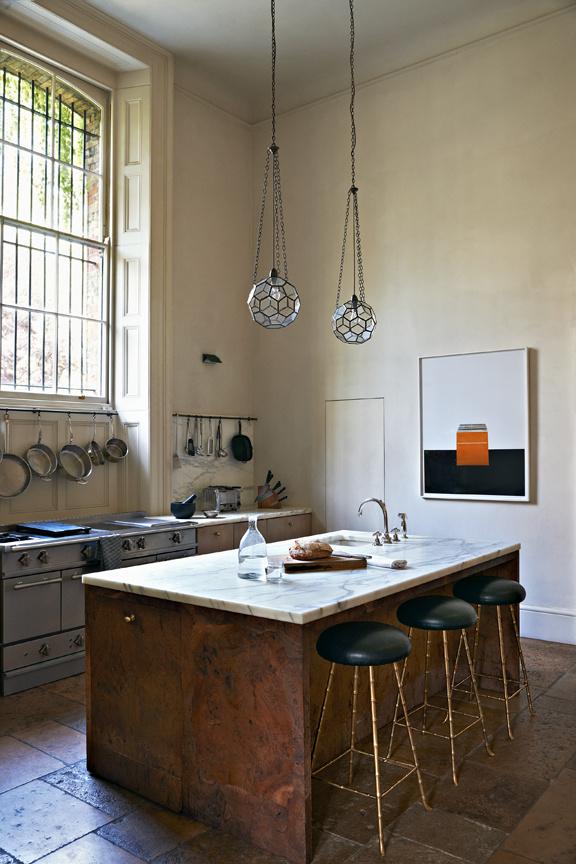 Küche in Minimalismus