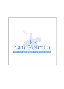 Foro San Martín.