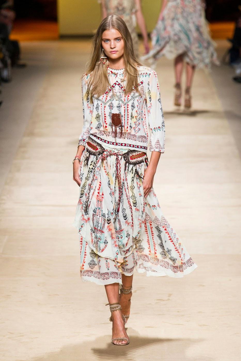 Fashion Show: Etro Spring Summer 2015