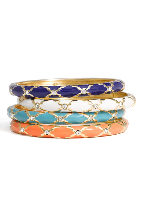southern royalty  guest post   preppy bangles