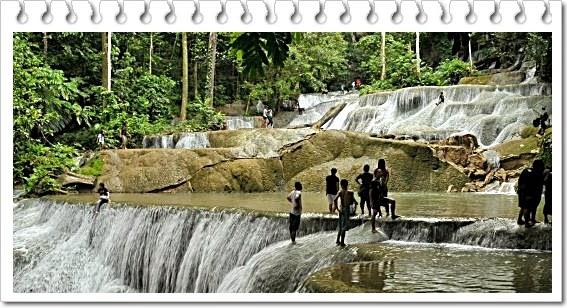 wisata air terjun seratus tingkat kota padang