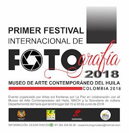 Festival internacional de fotografía MACH Colombia 2018