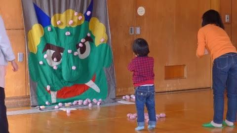 児童センター節分イベント