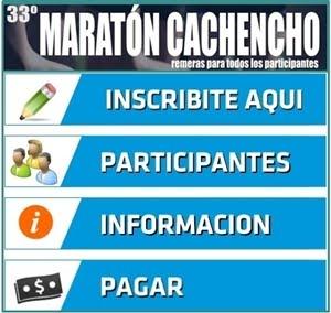 INSCRIPCIÓN ON LINE MARATÓN CACHENCHO