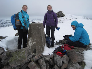 Lunchtime on Carn Liath