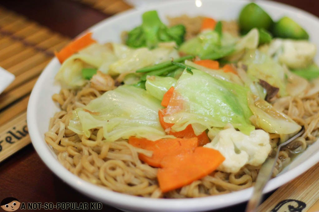 The Filipino Pancit Canton - simple yet good