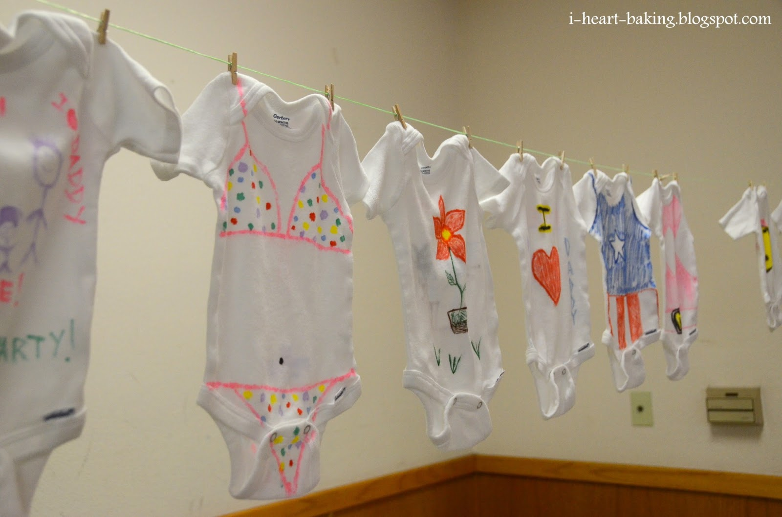 the baby shower was a blast there were lots of games and activities