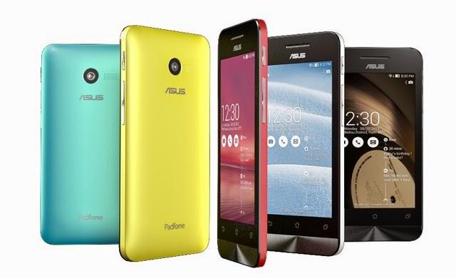 Harga Asus Zenfone 4 dan Smartphone 3G Dual SIM