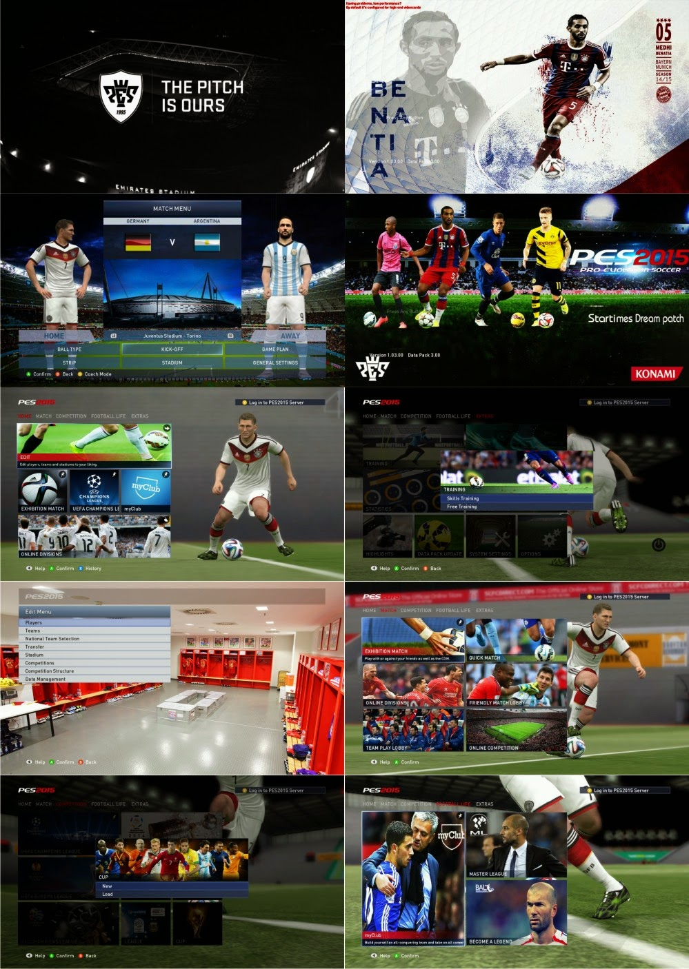 PES 2015 New Graphic by mossa the rock