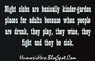 Night Funny club quotes