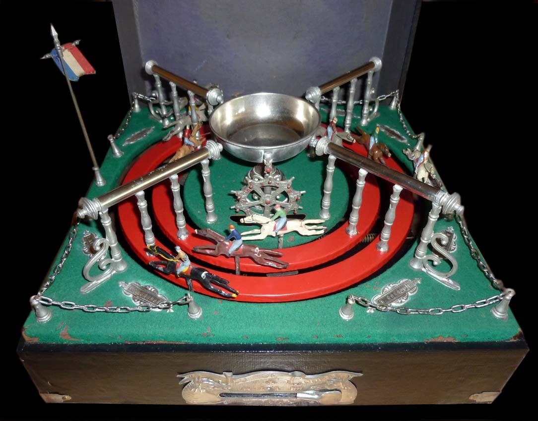 Le grenier de pascal jeu de course de petits chevaux - Course de chevaux table de multiplication ...