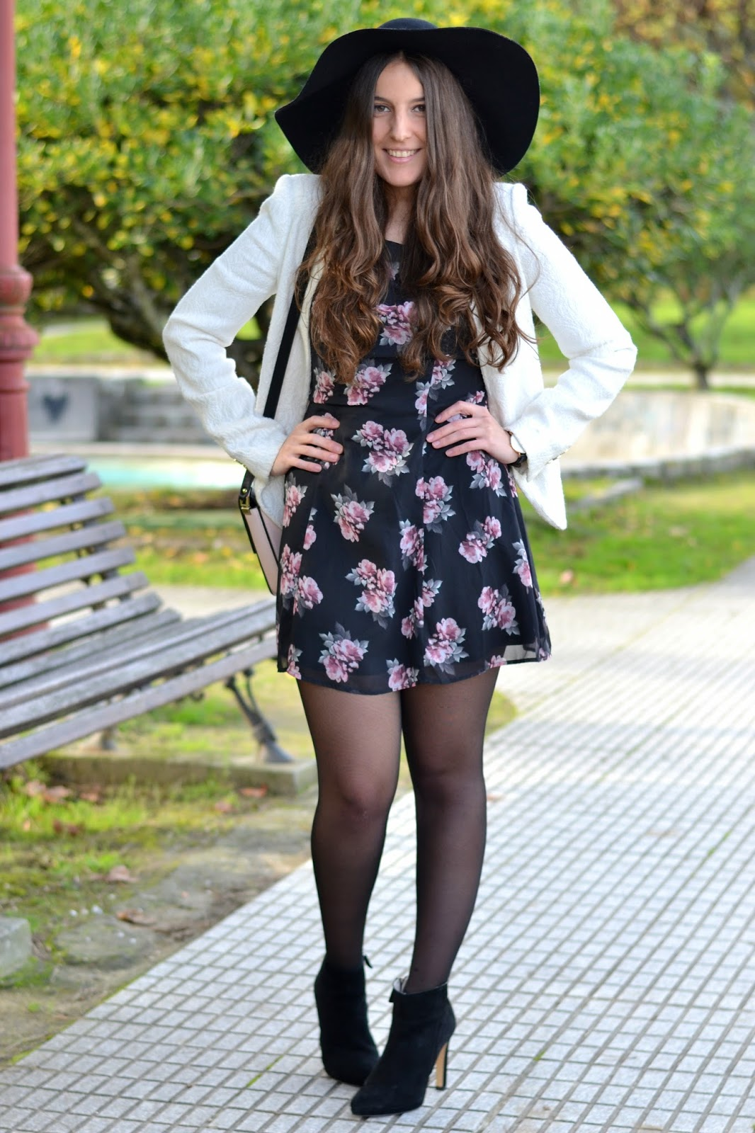 floral, print, dress, H&M, divided