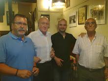 En Madrid con algunos poetas amigos: