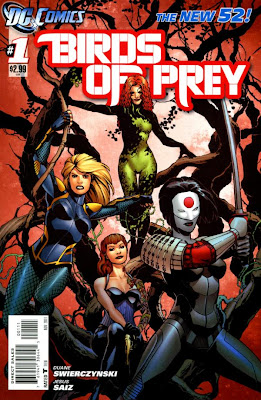 Birds of Prey Issue #1 Cover Artwork