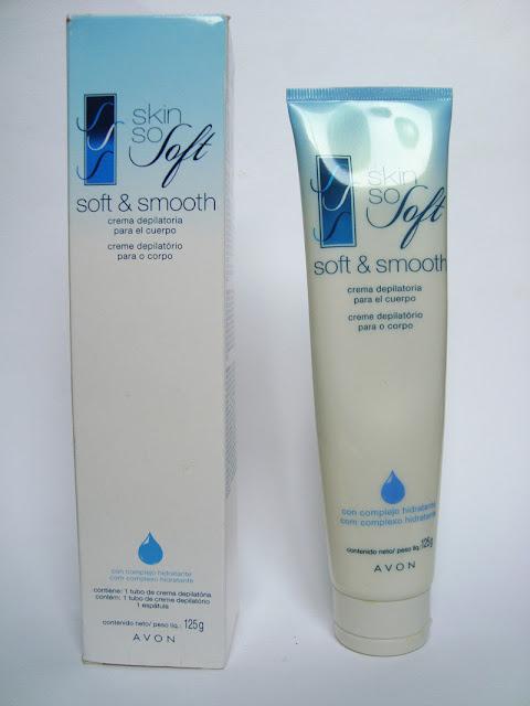 Creme Depilatório para o Corpo da  Avon Skin So Soft