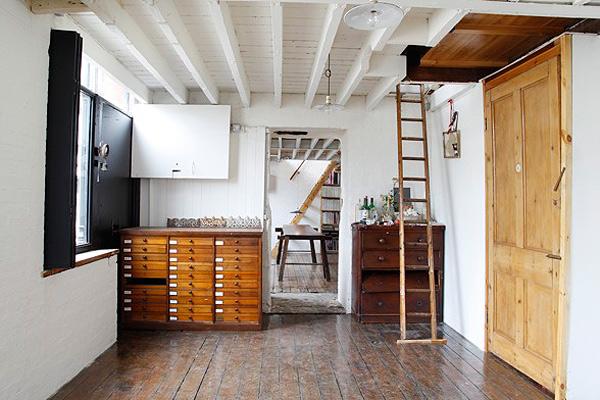 Decoraci n cool de un apartamento en londres bonitadecoraci - Apartamento en londres ...