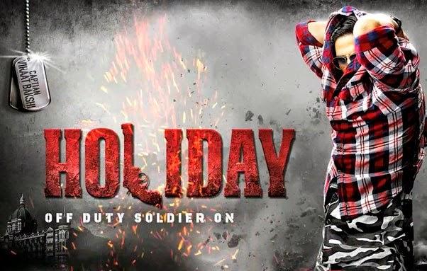 Akshay kumar Holiday Posters