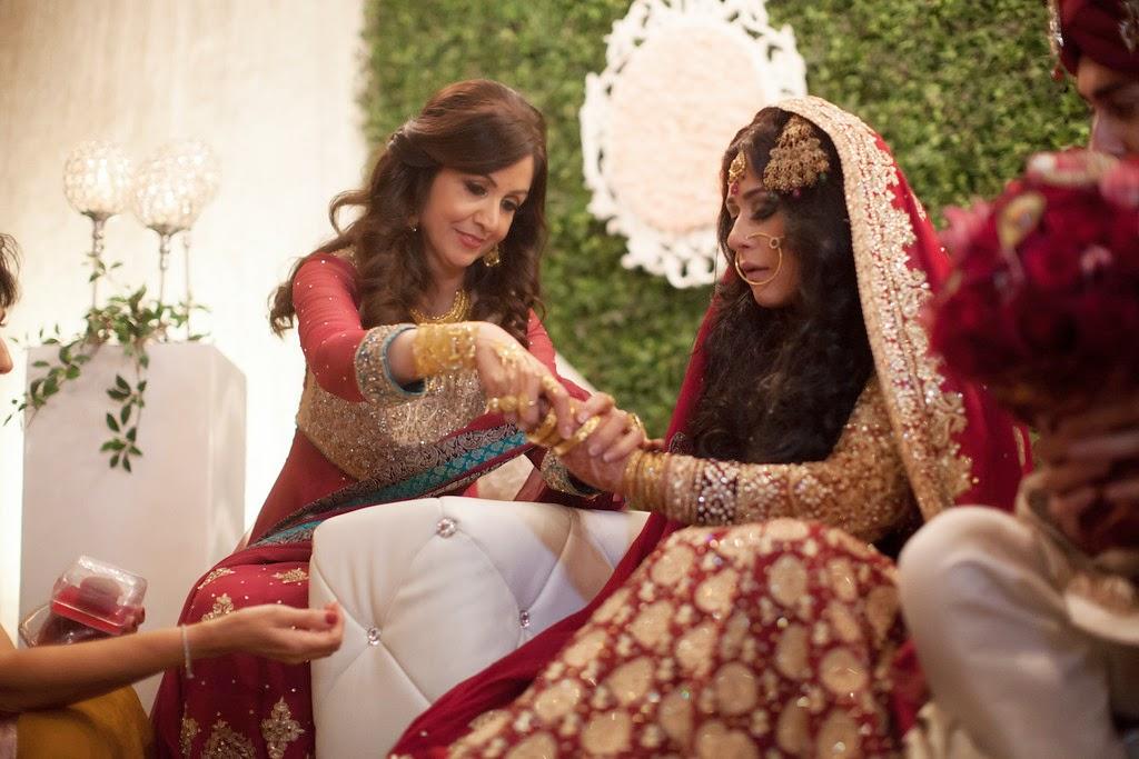 south asian wedding, bride, bangles
