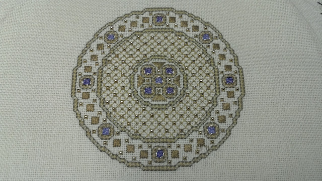 """Byzantine Ornament #4"" by Teresa Wentzler"