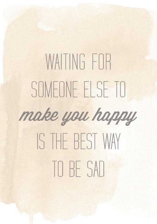 best way to be sad