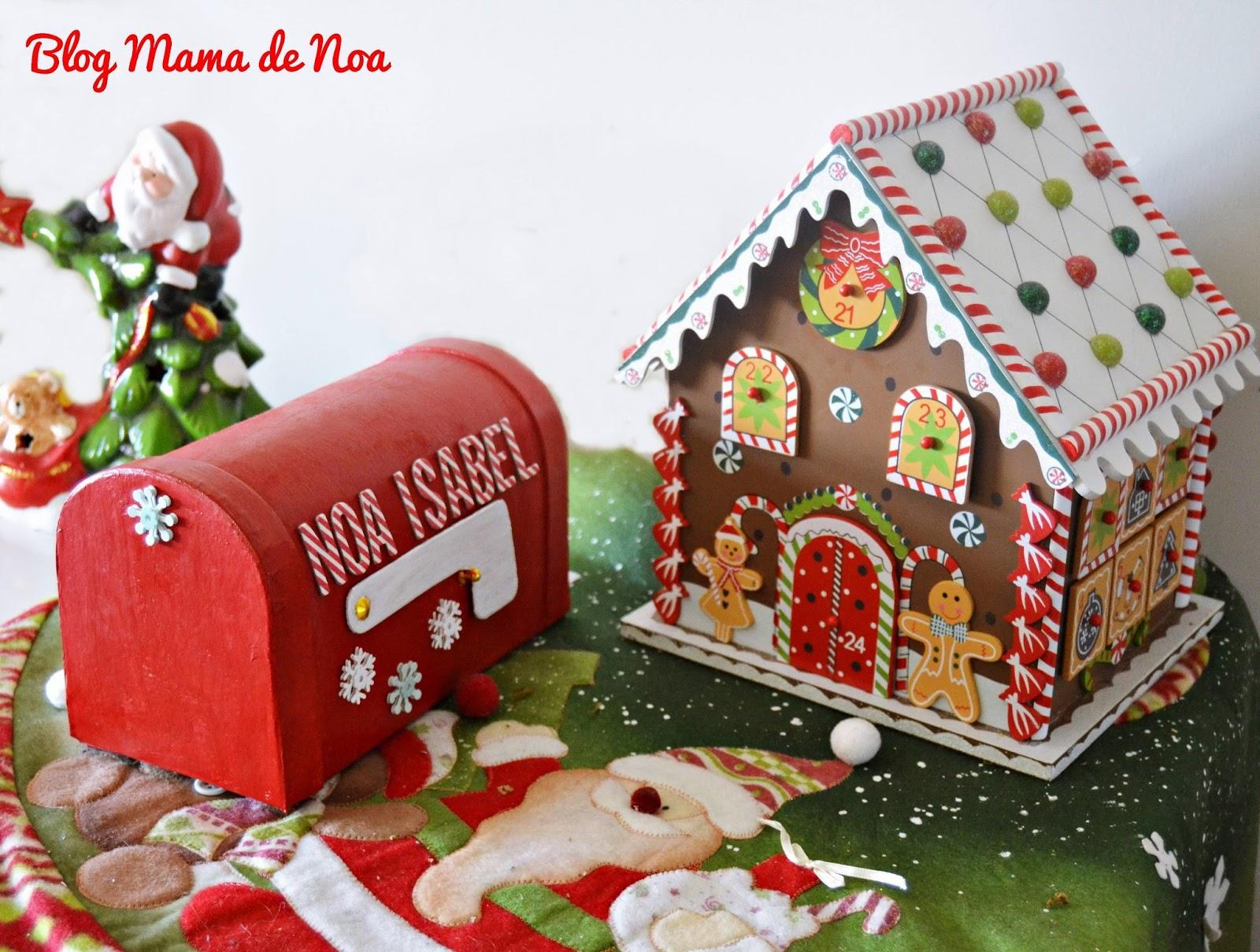 DIY Buzón para Papa Noel blog infantil mama de Noa